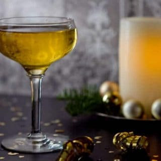 St. Germaine, applejack and pear liqueur and bubbly prosecco combine in this elegant St. Germaine Champagne cocktail.