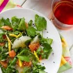 Sweet, sour and a little spicy, this Pomelo, Citrus and Mint Salad recipe is a refreshing side with grapefruit and mangos, perfect for backyard barbeques.