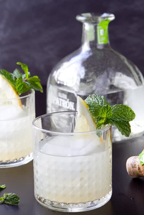 pomelo and mint margarita