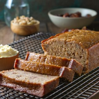Van de Kamp's Date Nut Bread - this easy, healthy quick bread is incredibly moist and full of dates and walnuts. Enjoy with tea or coffee or for dessert!!