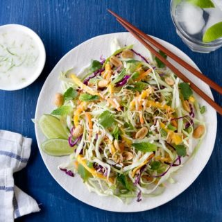 Thai Coleslaw with Coconut and Lime