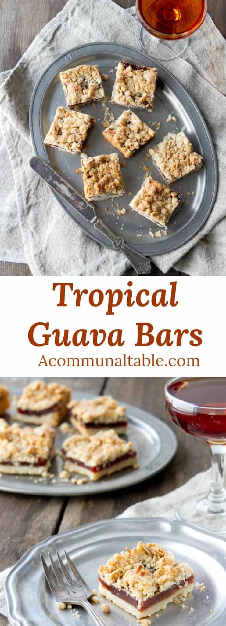 This Tropical Guava Bars dessert recipe is quick and delicious. Guava paste and coconut are the secret for these backyard luau favorites.