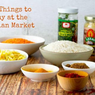 10 Things to Buy at the Indian Market