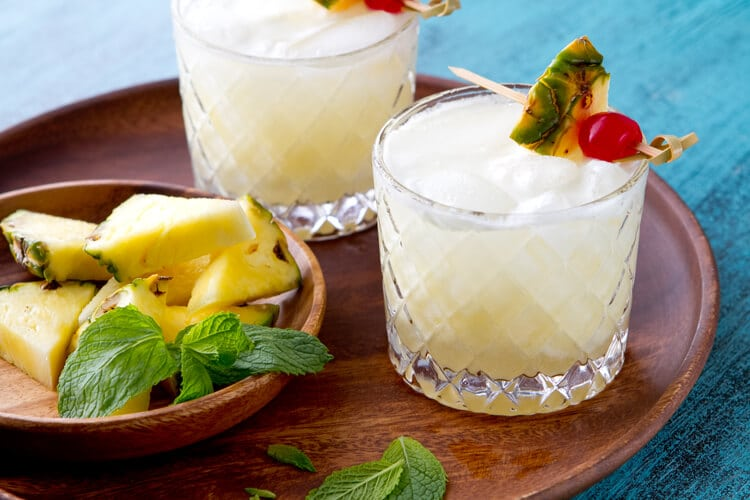 A twist on the classic, this version is shaken with a little lime juice to balance the sweetness.
