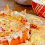 Queso Tomato and Artichoke Dip
