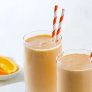 Sweet Potato and Orange Lassi