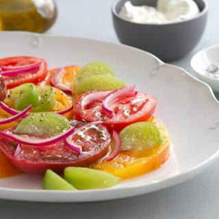 Tomatillo and Tomato Salad
