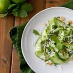 Salty, spicy, sweet and sour, this Thai Cucumber Salad is cool and refreshing.