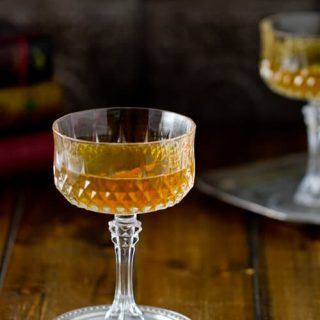 Lightened with a little sherry, the Orkney Chapel Cocktail is sweet, smoky and a little nutty - a delicious introduction to whisky cocktails!