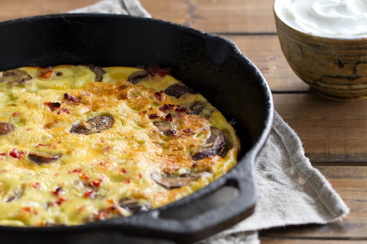 Chobani-Fritatta-out-of-the-oven