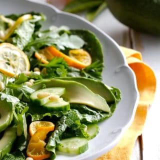 Caramelized Citrus and Avocado Salad