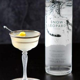 Vanilla Pear Vodka Gimlet