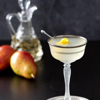 Vanilla Pear Vodka Gimlet Recipe