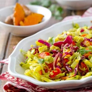 Indian Spiced Coleslaw