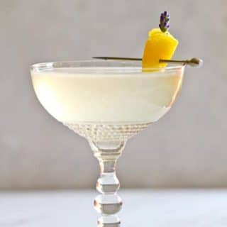 Lavender French 75: a Champagne Cocktail