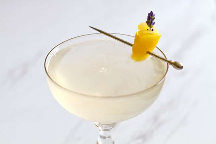 Lavender French 75 - A Communal Table