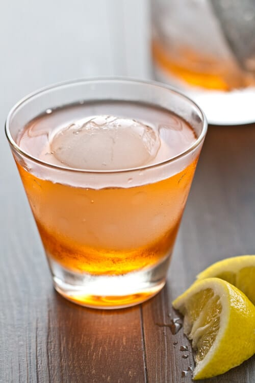 The Contessa Cocktail - the Negron's sexier cousin with Aperol, gin and dry vermouth