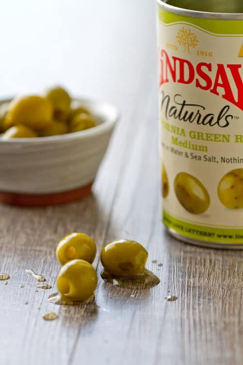 lindsay olives with the can