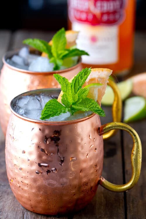 Sweet Tart And Y This Ruby Red Moscow Mule Is The Perfect Summer Refresher