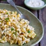 Creamy Citrus Mexican Corn Salad