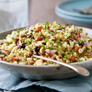 Corn and Blueberry Wild Rice Salad Recipe