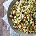 Corn and Blueberry Wild Rice Salad