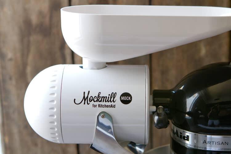 mockmill with grain bin