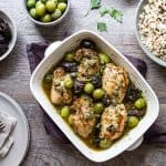A Silver Palate classic, this Chicken Marbella with Boneless Thighs recipe is perfect for weeknights and parties! Just mix, marinate and bake!