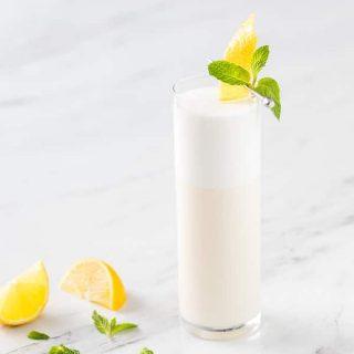 Creamy Lemon Prosecco Cocktail