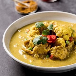 One Pan Indian Coconut Chicken Curry