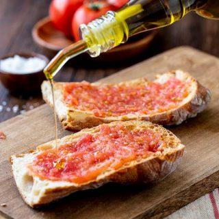 Tomato Bread |Pan Con Tomate