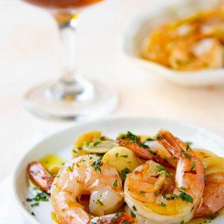 Shrimp in Garlic Sauce|Gambas Al Ajillo