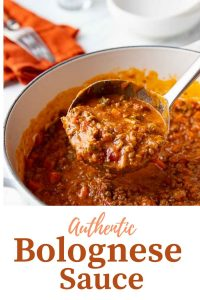 Easy Authentic Bolognese Sauce Recipe